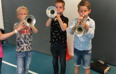 Workshop Blaasinstrumenten groep 5b