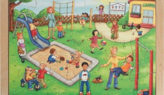 Speelplaats 0 tot 7-jarige